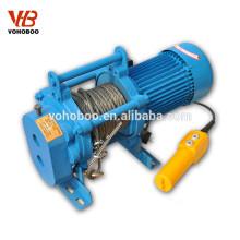 Treuil électrique de type KCD de treuil électrique d'exportation 110v- 450v
