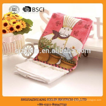 wholesale alibaba terry cotton christmas gift cook pattern screen printed kitchen tea towel