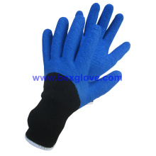 Half Coated Latex Glove, Warm Keeping and Heavy Duty