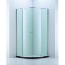 6 mm de espesor de vidrio Ware baño / ducha Cubículo (cvp048)