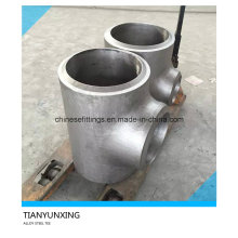 Alloy Steel Seamless Pipe Tee with Double V End