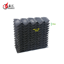 PVC PE Water Drift Eliminator For Cooling Tower And Evaproative Condenser