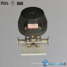Пневматический мембранный клапан из нержавеющей стали (новая конструкция)
