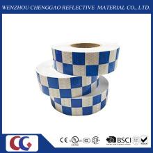 Azul branco alto reflexivo fitas Square Made in China Factory