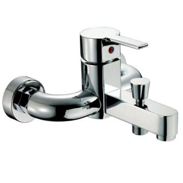 Torneira do chuveiro do banho de bronze da alavanca única