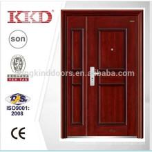 Новая модель для матери & сын дизайн стальные двери KKD-586B для входной двери