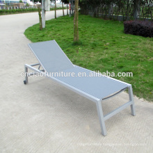 Outdoor chaise lounge sun lounger