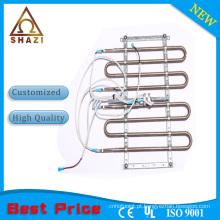 Elementos de aquecimento do ar condicionado com barbatana termostática
