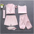 Cotton fannel solid pajamas for comfy women wear