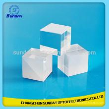 10x10x10mm BK7 Optique Verre Non Polarisation Beamsplitter Cube mini prisme