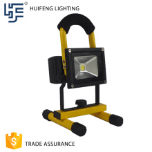 10W 20W rechargeable battery powered led work lights