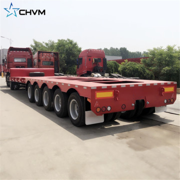 Heavy Duty 5 Line 10 Axles Lowboy Trailer