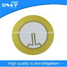 Disque piézo céramique de 35 mm 3.0kz d'élément piézoélectrique pour sirène d'alarme Fabrication de dongguan