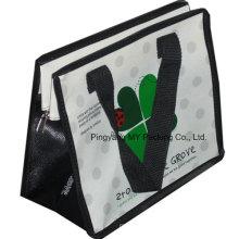 Faltbare BOPP Laminierung PP Non-Woven Einkaufstasche Promotion Reißverschluss Tasche