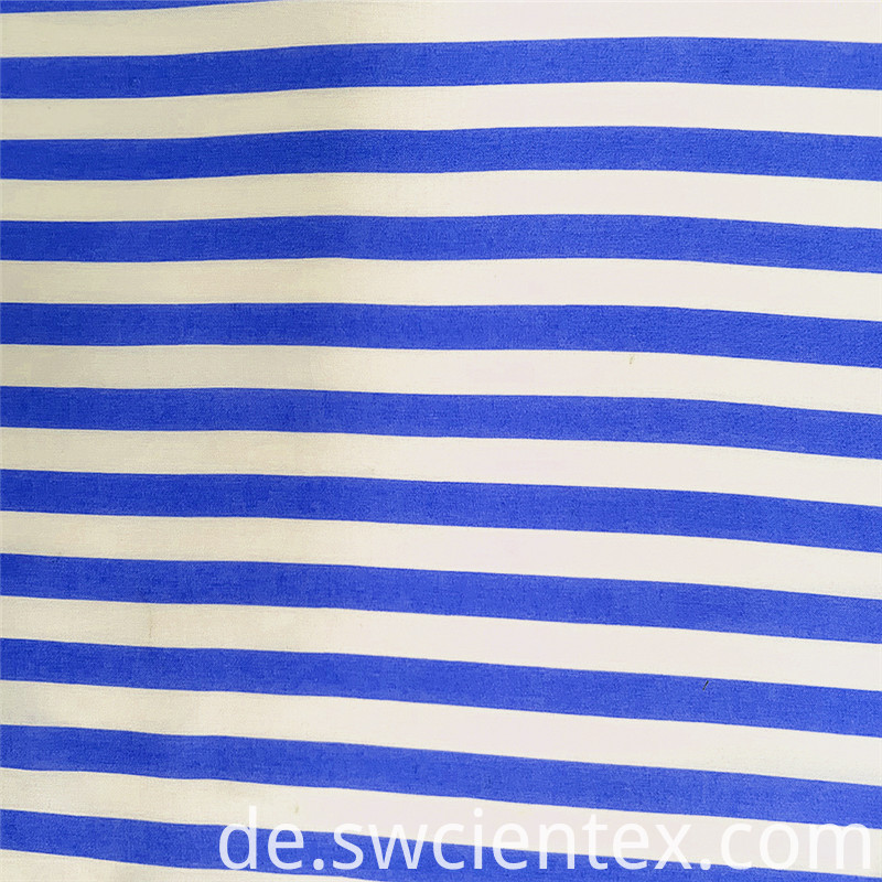 Hot Sale 100% Rayon Stripes Woven Garment Fabric
