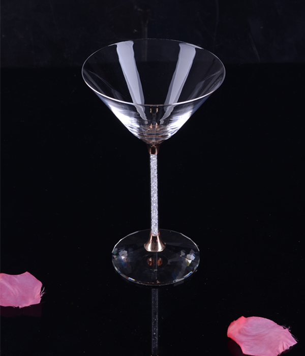 lead free champagne glass