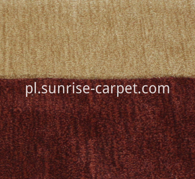Dyeable Polyester Hand Tufted carpet mix color yarn