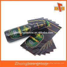 Экологичная пластиковая этикетка для термоусадочной этикетки из ПЭТ для пивных или пластиковых бутылок с очаровательной печатью
