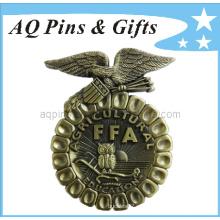 Lembrança do emblema do metal 3D Ffa com emblema antigo (badge-006)