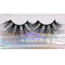 SL002H Hitomi Wholesale Mink Eyelash Box Long Eyelash soft natural mink eyelashes Fluffy 25mm Magnetic Mink Eyelashes