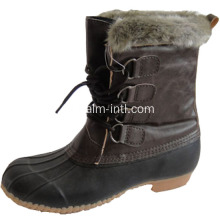 Karet outsole salju boot