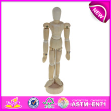 Wooden Drawing Manikin Toy for Sale, Rotatable Human Boday Wooden Drawing Manikin Art Manikin Wooden Manikin W06D041-a