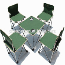 High quality Folding Camping chair with table