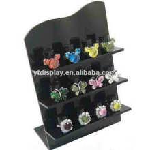 Schwarz Acryl Ohrring Display