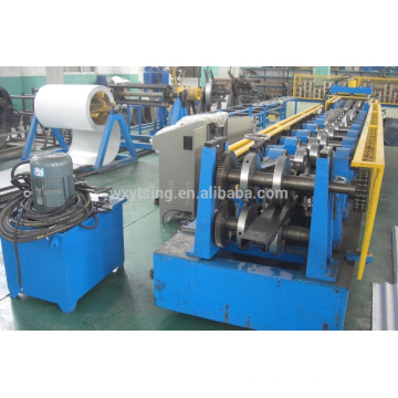 YTSING-YD-4842 Passed ISO and CE Hydraulic C Z Purlin Making Machine From WuXi, C Shape Forming Machine