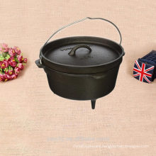 cast iron acessories of camping dutch bucket