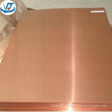 Placa de cobre T1 T2 0.8mm / folha de cobre C11000 C12200