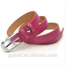 2.0cm fashion pu belt for kids cloth