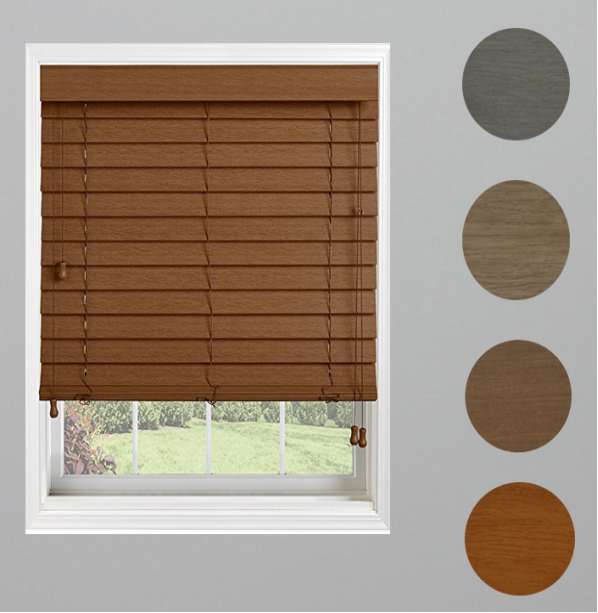 Wooden Grain Venetian Blinds