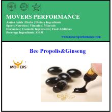 Bee Propolis & Ginseng / Capsules végétales / Sans conservateurs