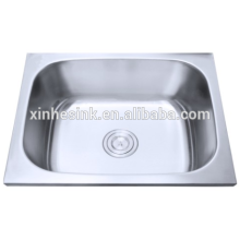Above counter 304 stainless steel laundry room sinks brush surface