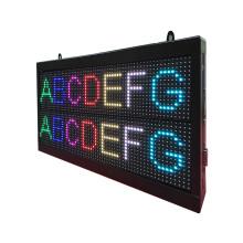 P7.62 Seven Colors Double Line LED Message Screen