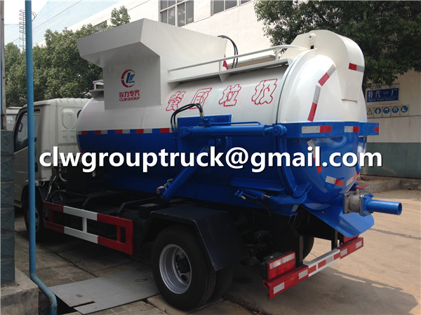 Mobile Kitchen Waste Garbage Truck
