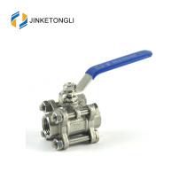 WCB control valve trunnion galvanized ball valve
