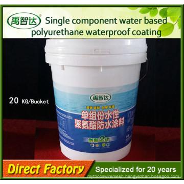 Single Component Colored Polyurethane Waterproof Coating