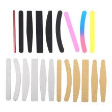 Professional Customized Logo High Quality Emery Nail File Zebra Nail File Rectangle Nail File