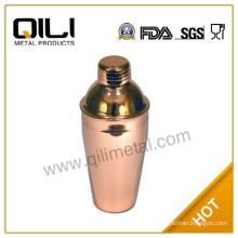 Novelty gold copper cocktail shaker