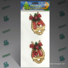 10см золото Пластиковые немецкие Рождественские украшения