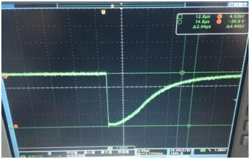 Oscillogram of PCD02 driver operation