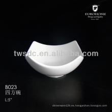 B023 chip y dip tazón de cerámica para el hotel