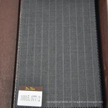 cinza e azul escuro 100% lã adequando tecido para negócios vestindo