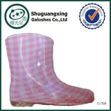 niños botas de lluvia venta C-705