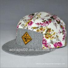Chapéus de Snapback de Brim Flat Brim em acrílico