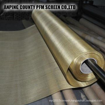 150um 100um Micron Tinned Super Fine Pure Copper Wire Mesh Cloth