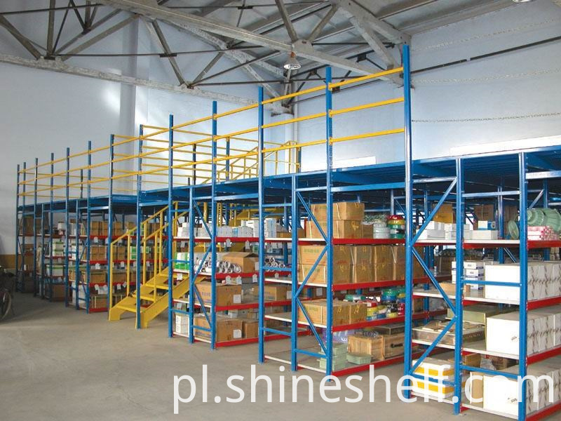 Shelf Supported Mezzanine Floors