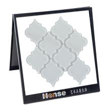 Modern Mosaic Kitchen Backsplash Arabesque Lantern Glass Tile